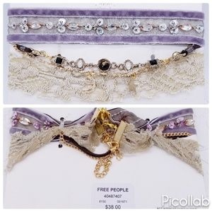 Free People New (w/tags) Choker Trio